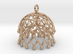 Lotus Jhumka - Indian Bell Earrings