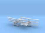 1/144 Sopwith Triplane x2