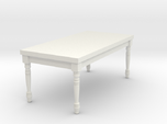 1:12 One Inch Scale Miniature French Country Table