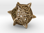 'Center Arc' dice, D20 balanced gaming die