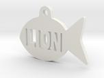 Gold Fish Pet ID Tag - Lion