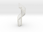 15' Spiral Stair Left Railing 1:48