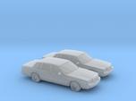 1/160 2X 1996 Lincoln Town Car