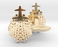 Pylon Fan cufflinks