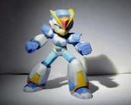 Megaman X Upgraded armor 60mm
