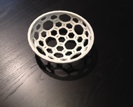 Covalent Bonds Coffee Table Bowl (6.25