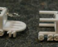 Earthquake Chair Earrings