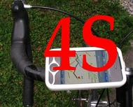 iPhone 4S bike mount assembly 1