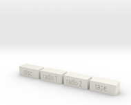 Quad 33 Input Buttons