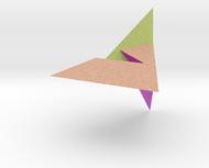 Szilassi polyhedron coloured