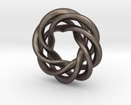 Charm Bead 4 strand mobius spiral