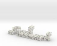 4 piece springy cube
