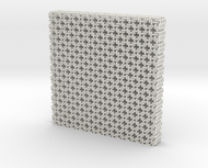 Square Maille flat N coasters (4)