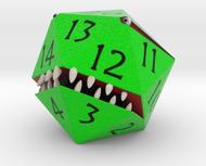 D20 Green Monster Figurine