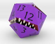 D20 Purple Monster Figurine