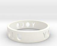 YOLO TYPE 2, Size 7 Ring Size 7