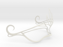 Venetian Mask in White Strong & Flexible