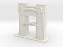 1/48 SCALE ROCKFORD CABINET COMPANY ENTRY in White Strong & Flexible