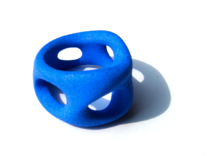 S3r036s6 GenusReticulum in Blue Strong & Flexible Polished