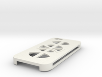 Iphones 5s Design 1 in White Strong & Flexible