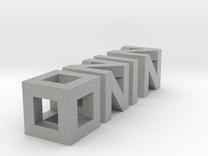 Ninomonosmaller in Metallic Plastic