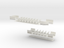 1:43 London Transport Tram 1852- Part 2 in White Strong & Flexible