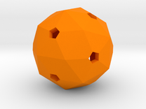 Hollow Blank D60 in Orange Strong & Flexible Polished