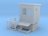 CNR Washago Signalmans Cabin (N-Scale, 1:160) in Frosted Ultra Detail