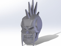 Vengeance Head in Frosted Ultra Detail