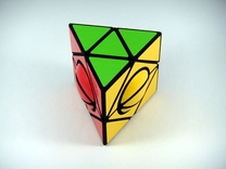 HeliPrism 6 Ball Puzzle in White Strong & Flexible