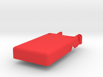 Mobius Case - Bottom Flat in Red Strong & Flexible Polished