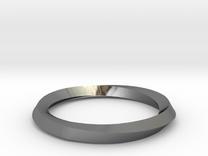 Mobius Wedding Ring-size10 in Premium Silver