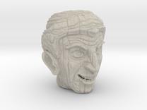 Porcelain Tiki Mug -The Alchemist  in Sandstone