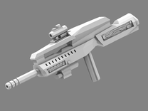 Weapons Of Unrest V2 in White Strong & Flexible