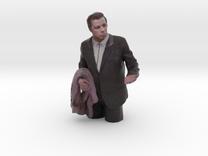 Confused Travolta 7cm in Full Color Sandstone