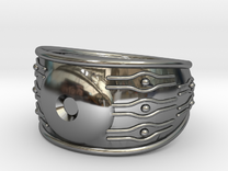 EYE ring in Premium Silver