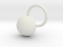 Pendant in White Strong & Flexible