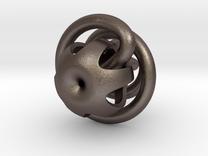 klein bottle - extra loop  in Stainless Steel