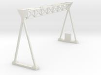 [1st] Snelwegportaal 1:87 (H0) in White Strong & Flexible