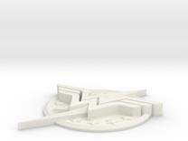 "WW-FlashLogo- 5"" Version in White Strong & Flexible"