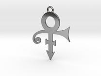 Prince Symbol 40mm V2 in Premium Silver