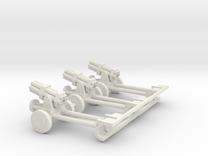 1/100 Nebelwerfer german rocket guns  in White Strong & Flexible