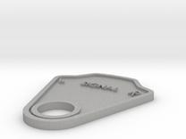 Signal Plate in Raw Aluminum