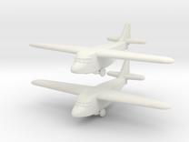 Kokusai Ku-8 (1/285) in White Strong & Flexible