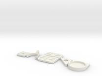 SaberwallMount in White Strong & Flexible