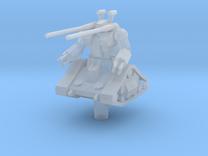 RX-75 Guntank 1:1000 in Frosted Ultra Detail