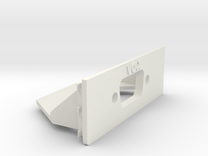 A1200 Rear Expansion VGA Casemount in White Strong & Flexible