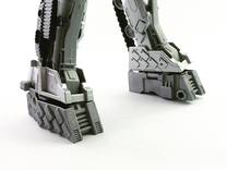 TR Compatible Feet for CW Leader Megatron in White Strong & Flexible Polished