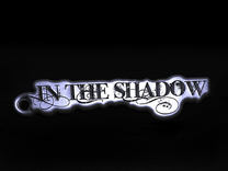 In the Shadow metal keychain in Stainless Steel