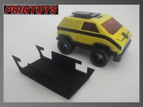 Vehicule Voltron MA-01 raisers in Black Strong & Flexible